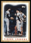 1987 Topps #631   Tigers Team Front Thumbnail