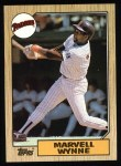 1987 Topps #37  Marvell Wynne  Front Thumbnail