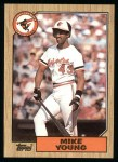 1987 Topps #309  Mike Young  Front Thumbnail