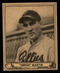 1940 Play Ball #100  Hersh Martin  Front Thumbnail