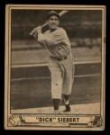 1940 Play Ball #192  Dick Siebert  Front Thumbnail