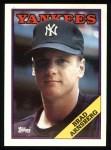 1988 Topps #159  Brad Arnsberg  Front Thumbnail