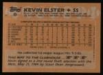 1988 Topps #8  Kevin Elster  Back Thumbnail