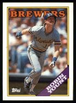 1988 Topps #165  Robin Yount  Front Thumbnail