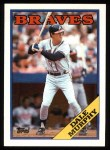 1988 Topps #90  Dale Murphy  Front Thumbnail