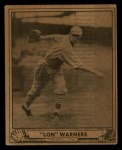 1940 Play Ball #114  Lonnie Warneke  Front Thumbnail