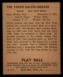 1940 Play Ball #158  Stonewall Jackson  Back Thumbnail