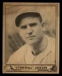 1940 Play Ball #158  Stonewall Jackson  Front Thumbnail