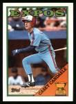 1988 Topps #431  Casey Candaele  Front Thumbnail