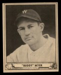 1940 Play Ball #17  Buddy Myer  Front Thumbnail