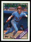 1988 Topps #215  Von Hayes  Front Thumbnail