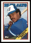1988 Topps #590  George Bell  Front Thumbnail