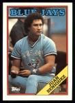 1988 Topps #541  Juan Beniquez  Front Thumbnail