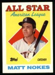 1988 Topps #393   -  Matt Nokes All-Star Front Thumbnail