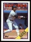 1988 Topps #235  Gary Ward  Front Thumbnail