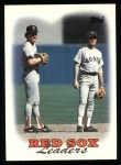 1988 Topps #21  Wade Boggs  Front Thumbnail