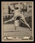 1940 Play Ball #110  Tom Sunkel  Front Thumbnail