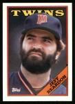 1988 Topps #425  Jeff Reardon  Front Thumbnail