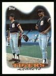 1988 Topps #429   -  Alan Trammell / Kurt Gibson Tigers Leaders Front Thumbnail