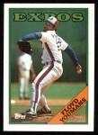 1988 Topps #365  Floyd Youmans  Front Thumbnail