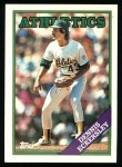 1988 Topps #72  Dennis Eckersley  Front Thumbnail