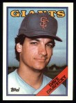 1988 Topps #68  Dave Dravecky  Front Thumbnail