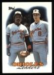 1988 Topps #51   -  Cal Ripken / Eddie Murray Orioles Leaders Front Thumbnail