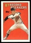 1988 Topps #6   -  Nolan Ryan Record Breaker Front Thumbnail