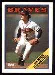1988 Topps #325  Glenn Hubbard  Front Thumbnail