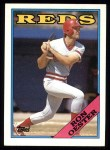 1988 Topps #17  Ron Oester  Front Thumbnail