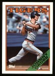 1988 Topps #128  Johnny Grubb  Front Thumbnail