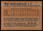 1988 Topps #436  Mike Bielecki  Back Thumbnail