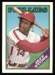 1988 Topps #154  Jeff Stone  Front Thumbnail