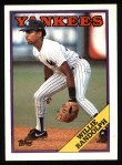 1988 Topps #210  Willie Randolph  Front Thumbnail