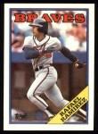 1988 Topps #379  Rafael Ramirez  Front Thumbnail