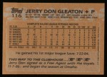 1988 Topps #116  Jerry Don Gleaton  Back Thumbnail