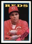 1988 Topps #102  Barry Larkin  Front Thumbnail
