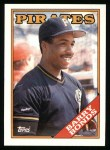 1988 Topps #450  Barry Bonds  Front Thumbnail