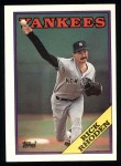 1988 Topps #185  Rick Rhoden  Front Thumbnail