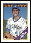 1988 Topps #692  Mike Birkbeck  Front Thumbnail