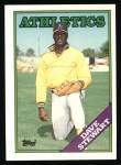 1988 Topps #476  Dave Stewart  Front Thumbnail