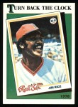 1988 Topps #662   -  Jim Rice Turn Back The Clock Front Thumbnail