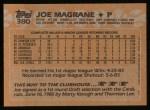 1988 Topps #380  Joe Magrane  Back Thumbnail