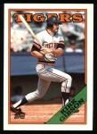 1988 Topps #605  Kirk Gibson  Front Thumbnail