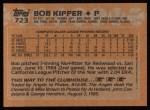 1988 Topps #723  Bob Kipper  Back Thumbnail