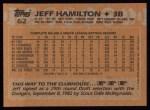 1988 Topps #62  Jeff Hamilton  Back Thumbnail