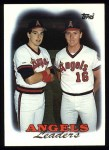 1988 Topps #381  Wally Joyner  Front Thumbnail