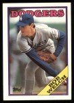 1988 Topps #118  Bob Welch  Front Thumbnail