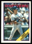 1988 Topps #456  Dave Anderson  Front Thumbnail