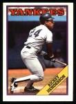 1988 Topps #60  Rickey Henderson  Front Thumbnail